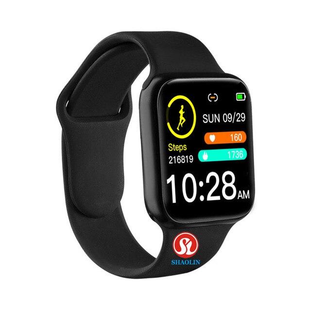90% off 38mm חכם שעון קצב לב לחץ דם Bluetooth גבר אישה Smartwatch עבור אפל שעון אנדרואיד טלפון IWO עמיד למים
