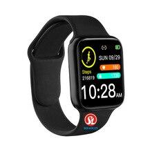 Reloj inteligente de 38mm con control del ritmo cardíaco y de la presión sanguínea para hombre y mujer, reloj inteligente de mujer resistente al agua para Apple Watch y teléfono Android IWO