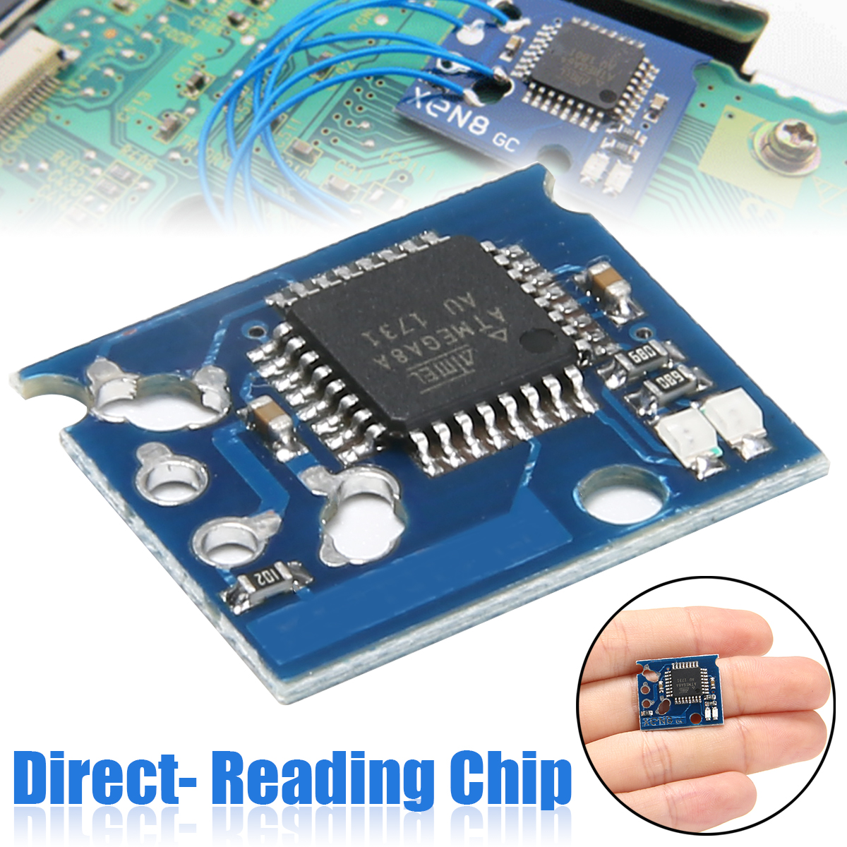 New Mod GC Direct- Reading Chip NGC For Nintendo Gamecube Game Console High Quality  NGC Direct- Reading Chip