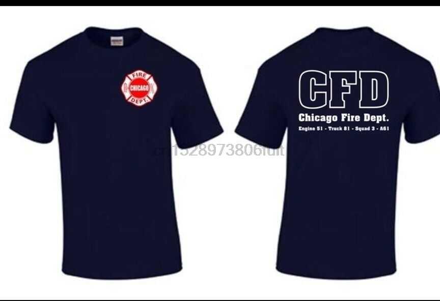 Chicago Fire Show Tv Show Chicago Fire Department T Shirt Duty