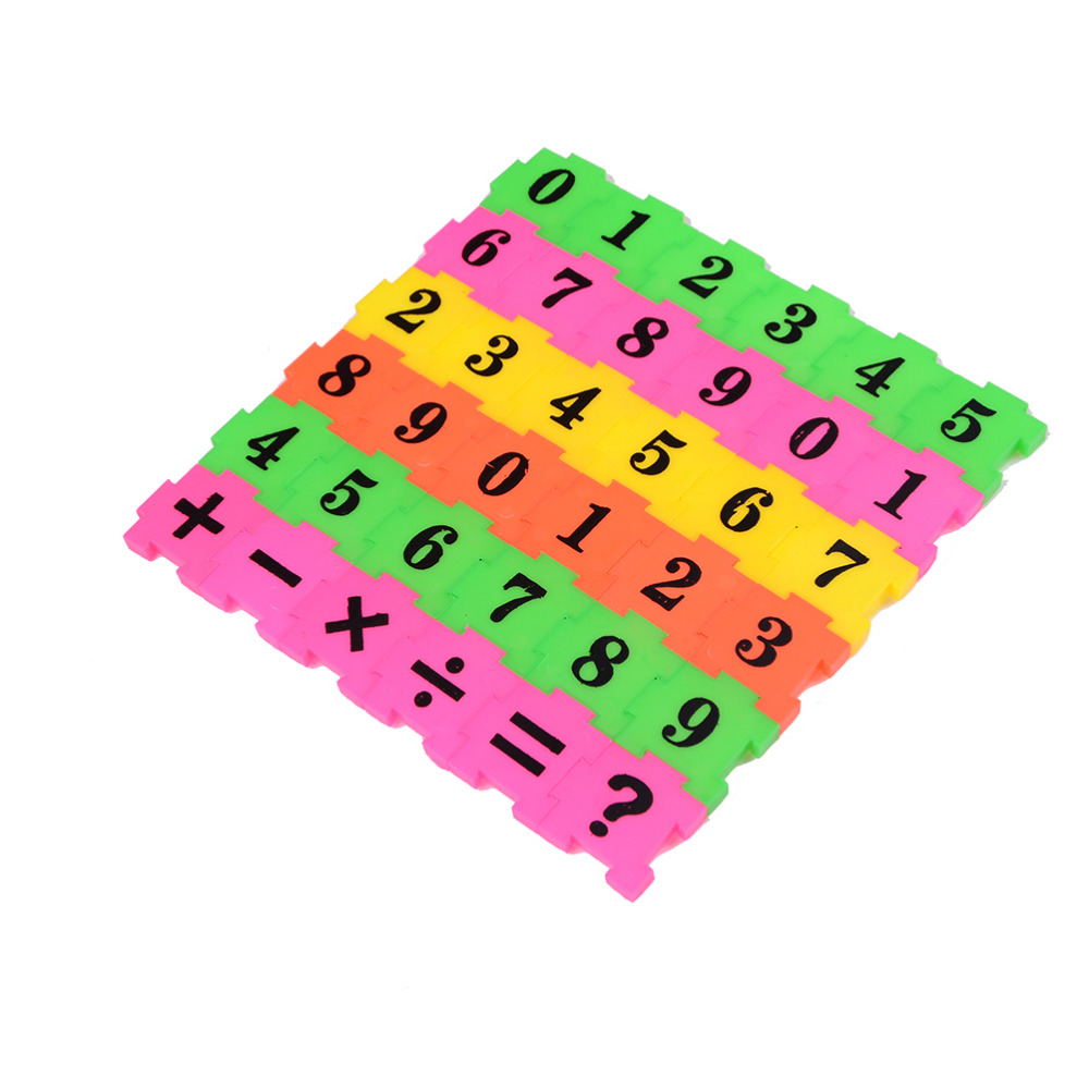 36pcs/lot Children Kids Educational Early Learning Math Toys Number Digital Add Subtract Multiply Divide Funny Game Toys