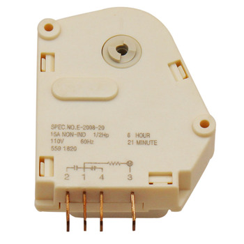 refrigerator defrost timer for frigidaire kenmore electrolux sears Refrigerator Accessories - High Reliability And Energy Saving 6 Hours Defrost Timer (Defrost Timer)