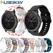 Colorful Rubber Soft Silicone Strap for Garmin Vivoactive3 Vivoactive 3 HR Smart Wristband Strap for Forerunner 645 Music band
