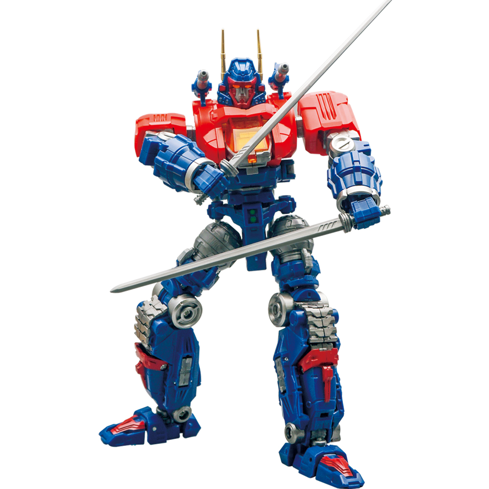 MFT Diaclone Transformation Robot DA-01 Model Lost Planet Serie Warrior Equipment Action Figure Toy