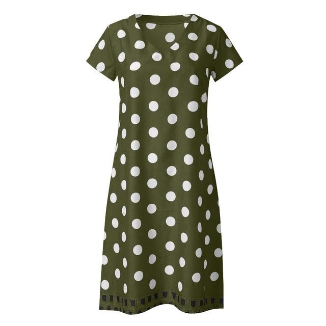 polka dot dress, work or play 5