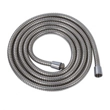 """3m Long Stainless Steel 1/2"""" Bath Shower Flexible Hose Pipe"""