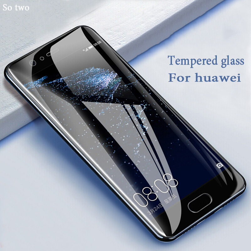99D Tempered Glass For Huawei Mate 10 20 Lite Pro Screen Protector Protective Glass For Huawei P20 P30 Lite Pro Mate 9 On Glass