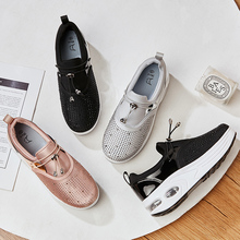 Women Flat Platform Loafers Slip On Casual Shoes