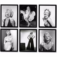 Настенные картины Мэрилин Монро кинозвезда плакаты и принты