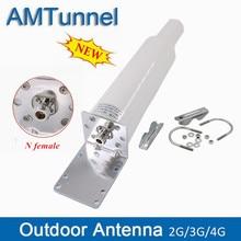 Antena externa 698 2700mhz mimo direcional 10 12dbi, 868mhz gsm n fêmea para 3 impulsionador do telefone móvel 4g