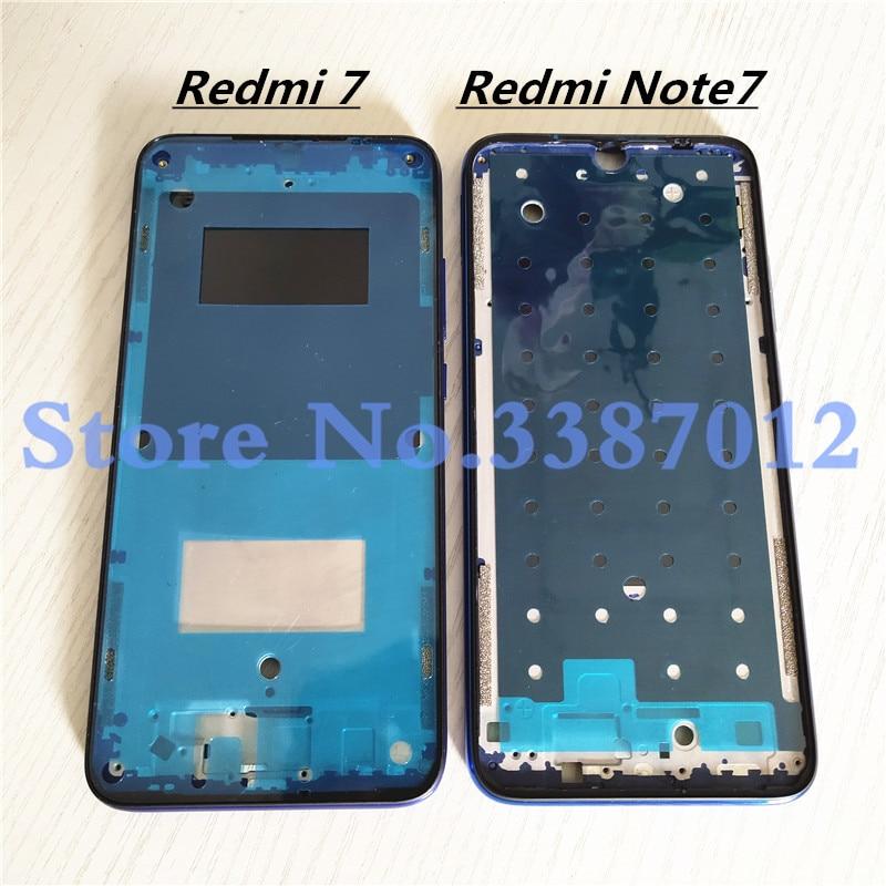 Новинка для Xiaomi Redmi Note 7 Redmi7 корпус средняя рамка сменная пластина крышка Запасные части