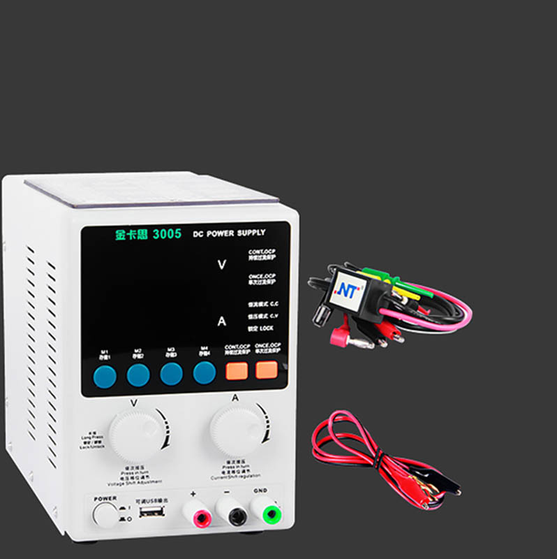Kaisi 3005 30V 5A Digital Adjustable DC Power Supply  Laboratory Power Supply 4-bit Display Voltage Regulator For IPhone Repair