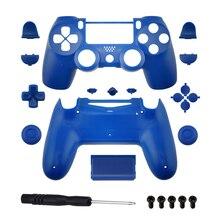 RETROMAX carcasa completa de repuesto y botones para jds 040 DualShock 4 PlayStation 4/PS4 Pro/Slim Controller, funda protectora
