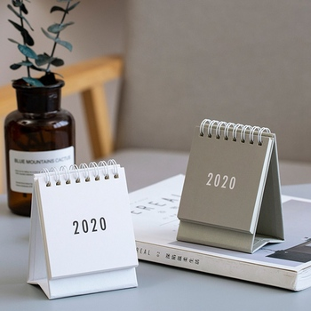 2020 Table Calendar Weekly Planner Monthly Plan To Do List Desk Calendar Daily Simple Style Desktop Calendar 2021 table calendar simplicity agenda planner weekly monthly to do list desktop paper calendars office stationery supplies