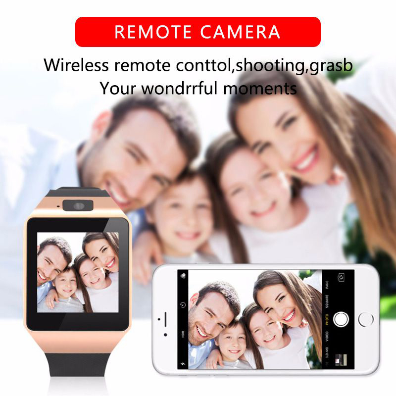 New Smart Watch DZ09 Pedometer Clock With Sim Card Slot Push Message Bluetooth Connectivity SmartWatch2020 For All smartphone 5