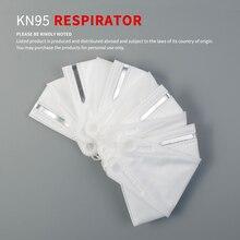 5 pcs Children Face Mask KN95 Mask Respirator FFP2 Mouth Masks for Kids Germ Protection Dustproof N95 Mask CE Certification KF94