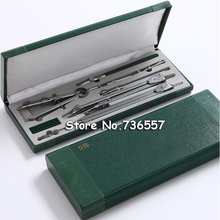 Math-Sets Compasses Nine-Suit Office-Stationery Mechanical-Drawing-Tool Drawing-Instrument