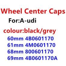 4 pçs 60mm 61mm 68mm 69mm centro da roda emblema do carro hub tampas emblema tampas adesivo estilo do carro acessórios automóveis