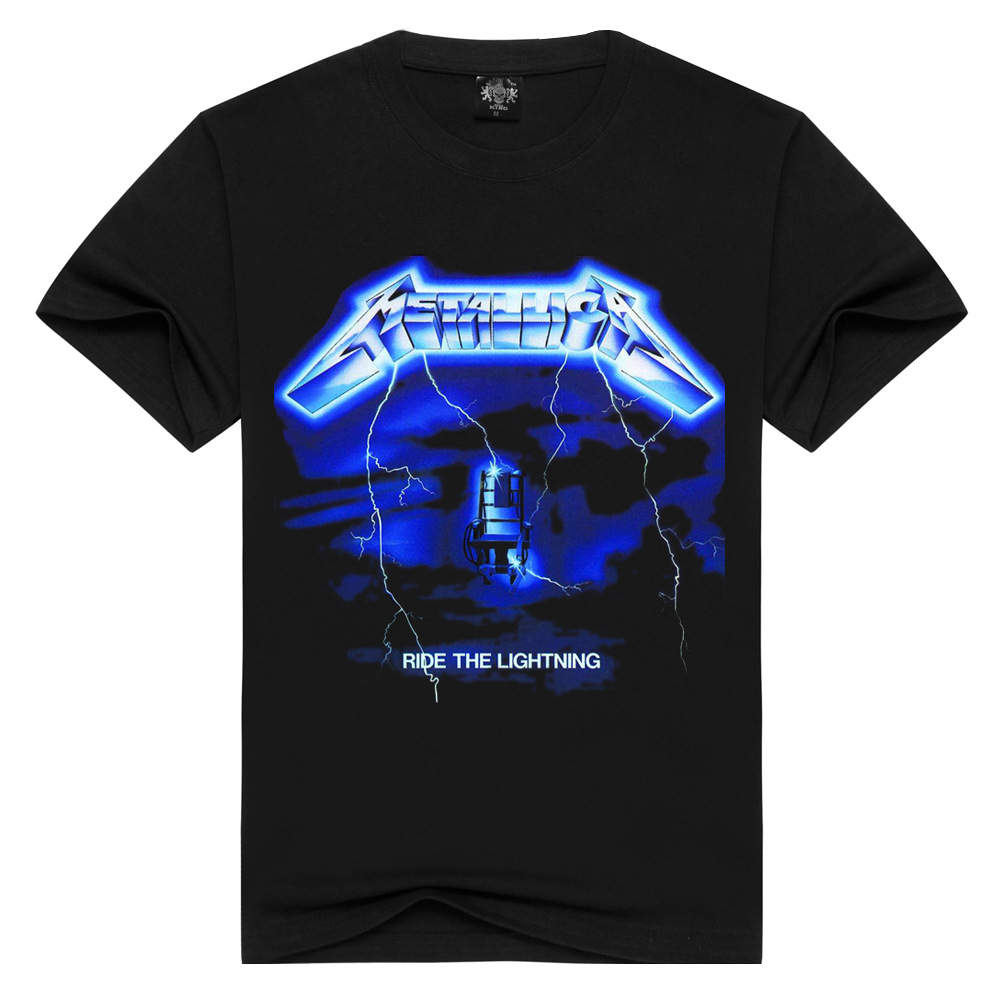 2019 New Style High Street Maychao Rock And Roll Heavy Metal Band MEN'S All-cotton Short-sleeved T-shirt Men's Printed T-shirt
