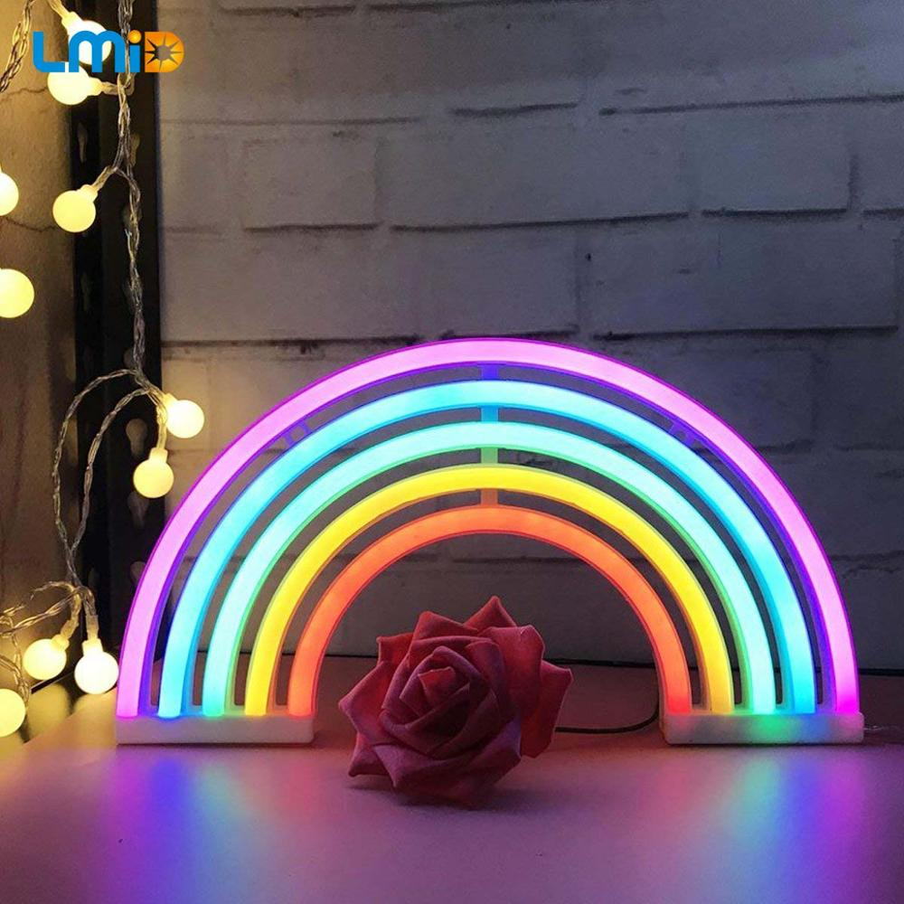 Neon Letter LED Night Light Marquee Sign Alphabet Lights Lamp Home Club Outdoor Indoor Wall Decor Valentine's Day Gift