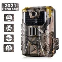 36MP 2,7 K Trail Kamera 940NM Unsichtbare Infrarot Jagd Kameras Wireless Cam HC900A Nacht Vision Wildlife Überwachung