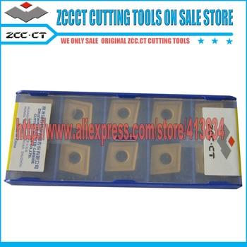 цена на 10pcs ZCC insert CNMG120408 YBC251 CNMG 120408 ZCC carbide inserts turning metal lathe cutter cnc tool parts plate CNMG120408