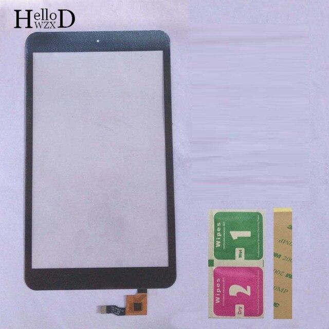 """8.0 """"タッチスクリーンパネルアルカテルワンタッチポップ 8 P320x P320 P320A タッチスクリーンデジタイザのフロントガラスパネルセンサー"""