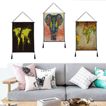 European style tapestry hanging print decorative paintings household textile custom polyester 45cm*65cm