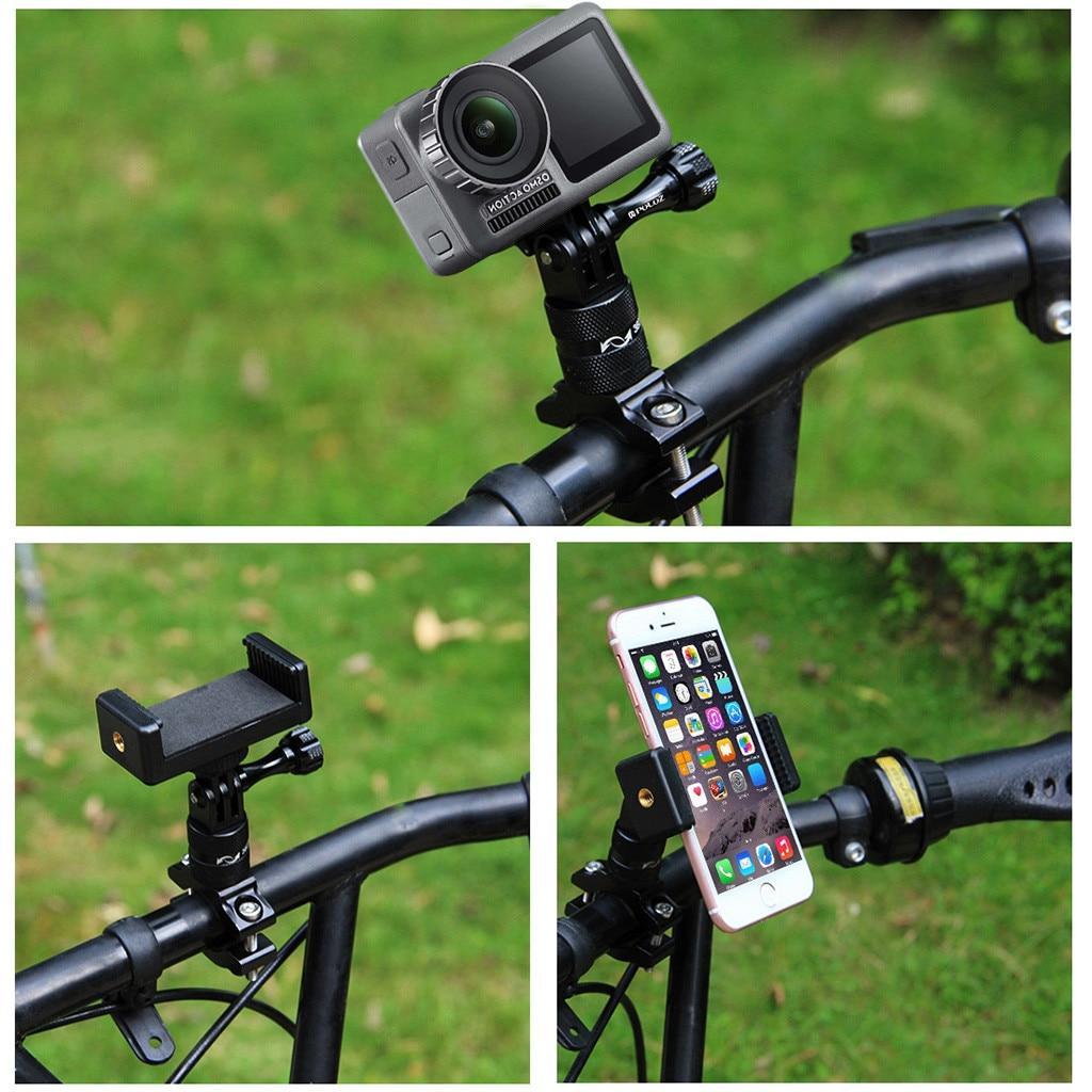 For DJI OSMO Action Camera Bicycle Bike Handlebar Mount Holder Adapter Bracket