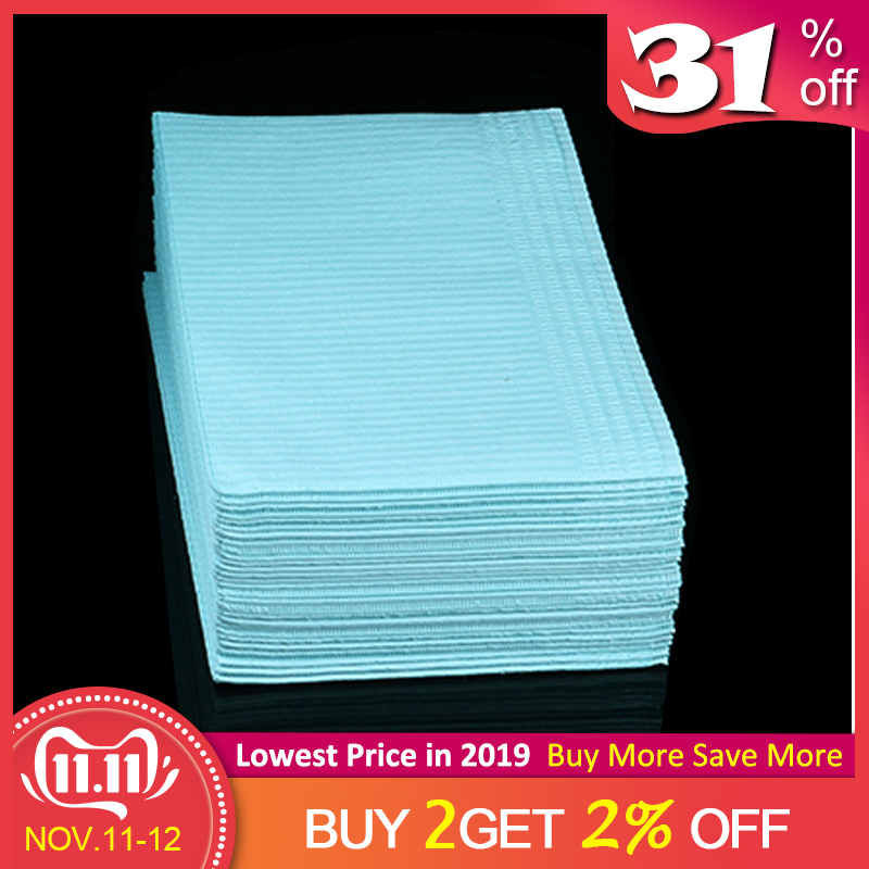 Newest Disposable Tattoo Clean Pad Waterproof Medical Paper Tablecloths Mat 10Pcs Double Layer Sheets Tattoo Accessories 45*33cm