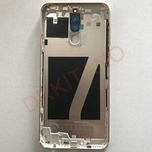 Image 5 - Für Huawei Mate 10 Lite Zurück Batterie Abdeckung Nova 2i Hinten Tür Gehäuse Fall RNE L21 Für Huawei Mate 10 Lite batterie Abdeckung Ersetzen