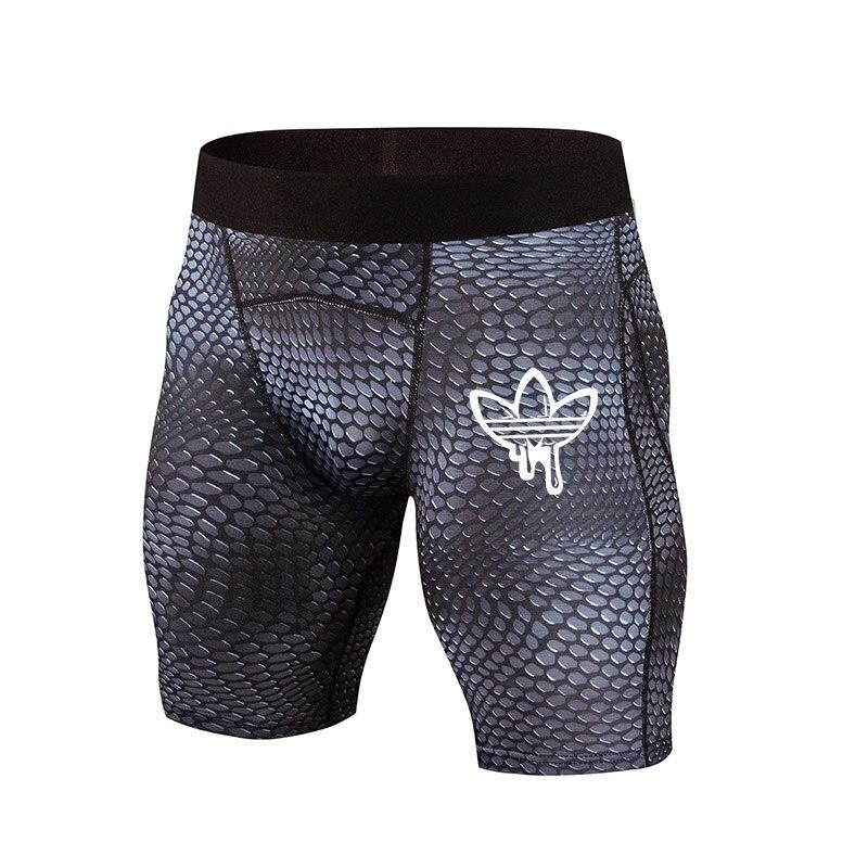 Tight Shorts Sweatpants Compression Fitness-Training Promotion High-Elastic Men's Hot