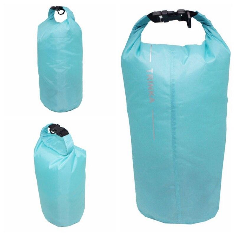 8L Portable Outdoor Hiking Walking Rowing Bag Swimming Bag Waterproof Dry Bag Large Bag Storage Bag Camping