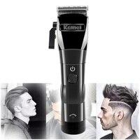 Kemei capelli trimmer KM- 2850 tagliatore di capelli tagliatore di testa Olio elettrico testa di taglio acciaio senza fili di trasporto di carica elettrica tagliatore di capelli