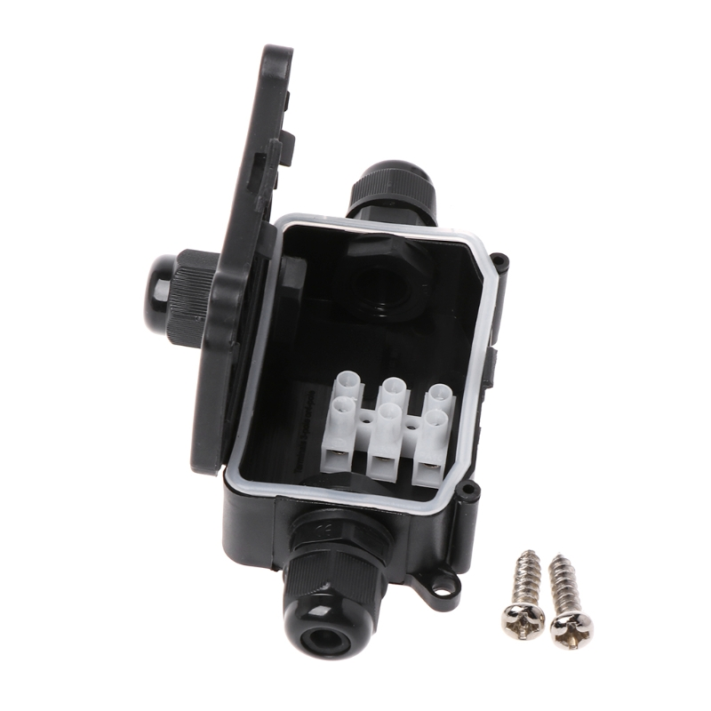2/3Way IP66 Outdoor Waterproof Cable Connector Junction Box With Terminal 450V E65B