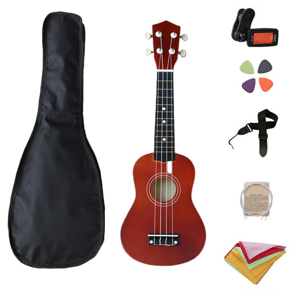 Professional 1 Set 21 Inch Beginner Starter Guitar Ukulele Learning School Musical Instruments Practice New Year Gift HOME image