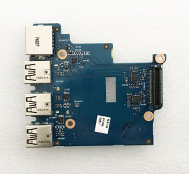 Free Shipping New Original For HP ProBook 650 G1 Series Card Reader LAN Ethernet USB Port Board Connector 6050A2566801