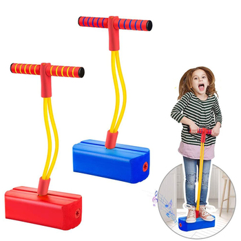 Foam Pogo Stick Sweater For Kids Indoor Outdoor Fun Sports Fitness Toddler Boys Girls Children Sensory Games Toys Giochi Bambini