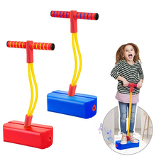 Foam Pogo Stick Sweater For Kids Indoor Outdoor Fun Sports Fitness Toddler Boys Girls Children Sensory Games Toys Giochi Bambini