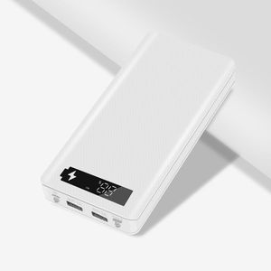 Image 2 - LCD Display DIY 10x18650 Batterie Fall Power Bank Shell Ladegerät Box Zubehör