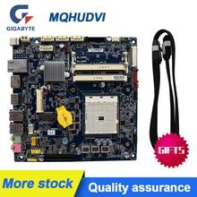 Dla GIGABYTE MQHUDVI cienki MINI 17*17 FM2 A75 płyta główna ITX zasilany prądem stałym LVDS oryginalne używane płyty głównej