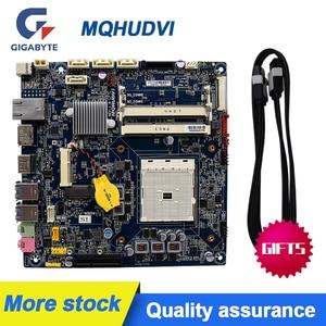 Image 1 - Voor Gigabyte Mqhudvi Dunne Mini 17*17 FM2 A75 Moederbord Itx Dc Aangedreven Lvds Originele Gebruikt Moederbord