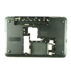 Image 3 - YALUZU חדש תחתון בסיס כיסוי תחתון מקרה עבור HP עבור ביתן DV6 6000 D מעטפת תחתון כיסוי דיור פגז