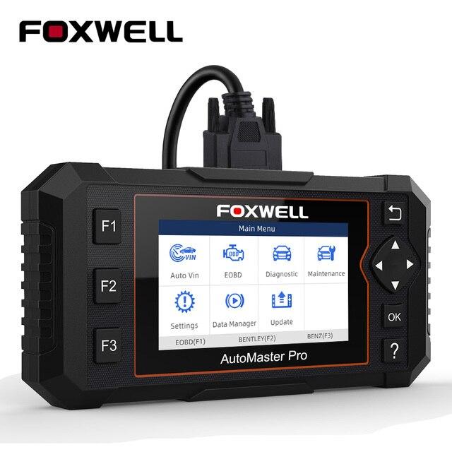 Устройство для считывания кодов FOXWELL NT614 Elite OBD2, устройство для считывания кодов