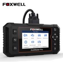 FOXWELL escáner automático NT614 Elite OBD2, herramienta de escaneo de coche, motor ABS SRS AT Oil EPB, reinicio ODB2, lector de código OBD, actualización gratuita