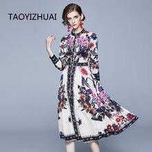 Женское платье на пуговицах элегантное весеннее в богемном стиле