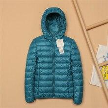 Plus Size 5XL Winter Jacket Women Warm Autumn Coats Outwear Ultralight Big Size Red Basic Jacket White Duck Down Overcoat Parkas стоимость