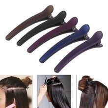 1Pcs Women Non-Slip Plastic Duckbill Alligator Hairpin Hair Clip Barrette Clamp Color Barrette