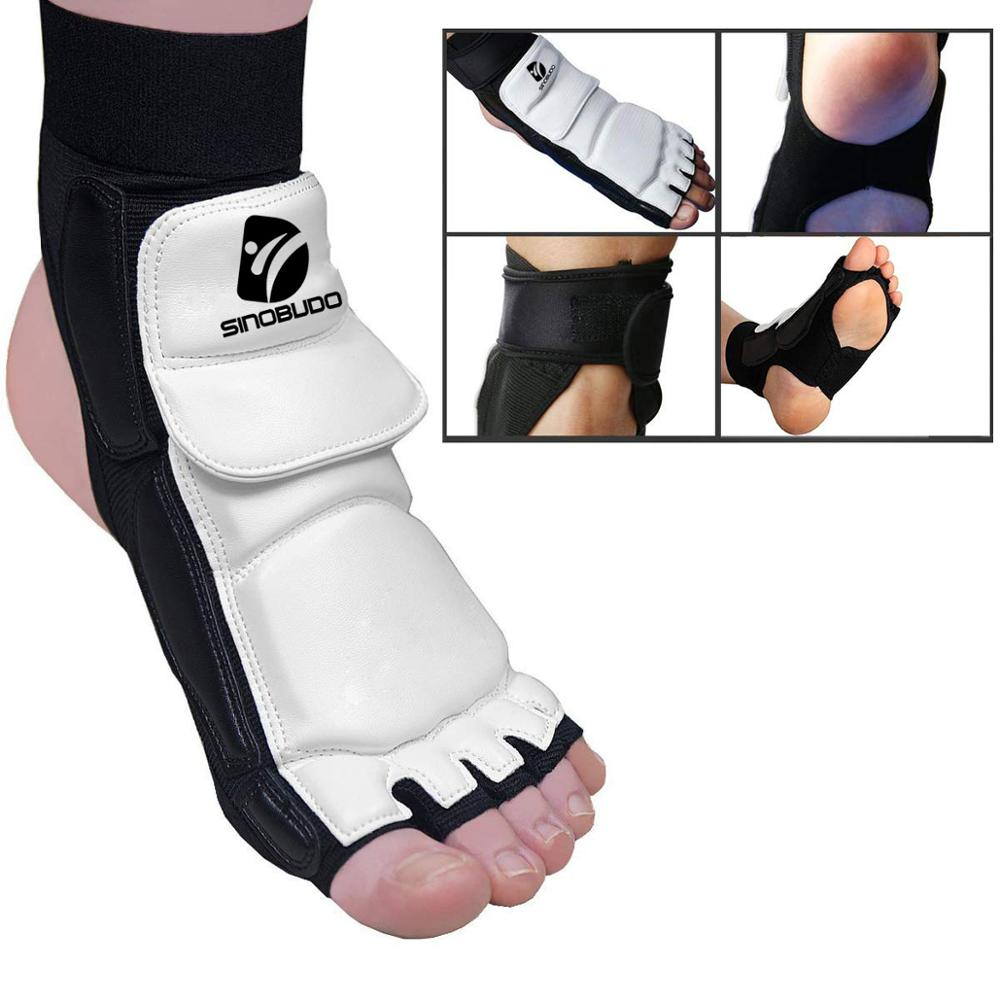 Taekwondo Foot Protector Martial Arts Fight Boxing Punch Bag Sparring Training