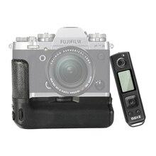 Bateria de controle remoto meike MK XT3 pro, aderência da mão para fujifilm X T3